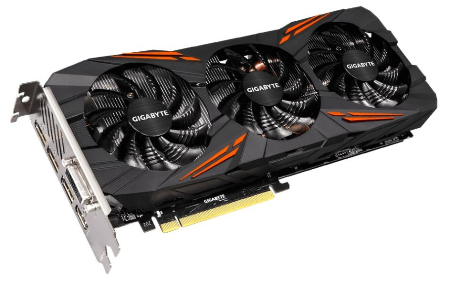 Gigabyte shows custom GeForce GTX 1070