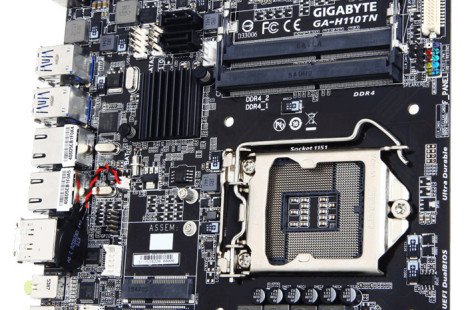 Gigabyte releases the GA-H110TN mini-ITX motherboard