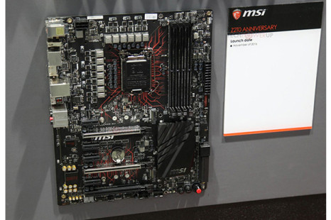 MSI showcases Intel Z270-based motherboard