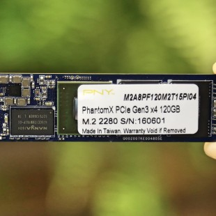 PNY demonstrates PhantomX solid-state drives