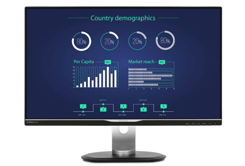 Philips announces monitor with USB Type-C port