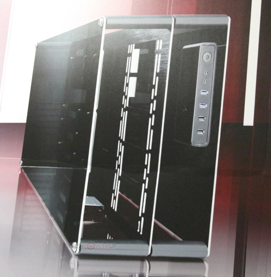 Raijintek demonstrates Paean PC case