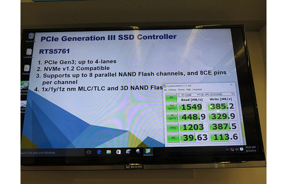 Realtek plans to sell SSD memory controllers