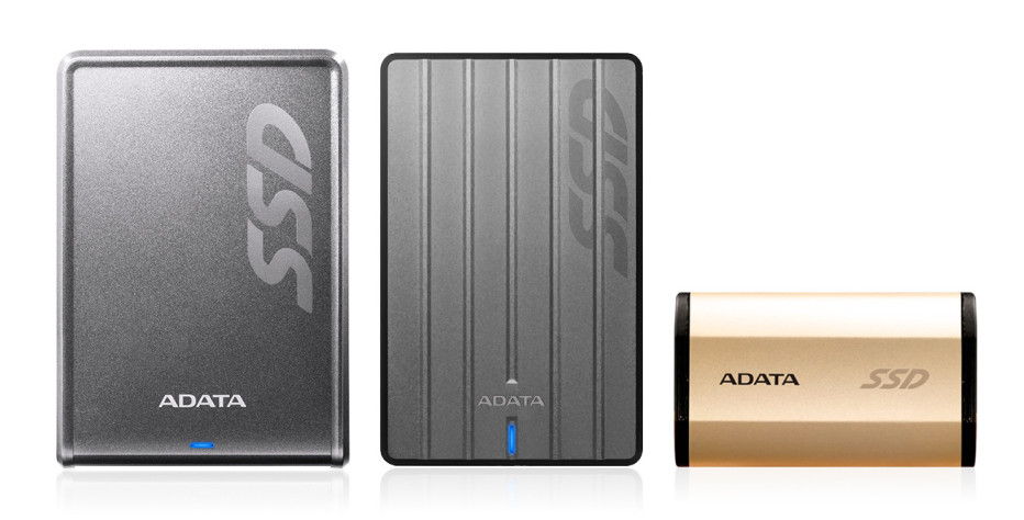 ADATA unveils three external SSDs