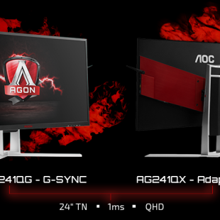 AOC expands its Agon monitor portfolio