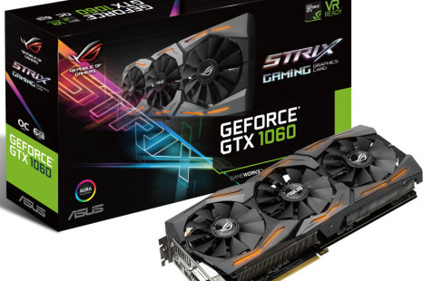 ASUS announces the Strix GeForce GTX 1060
