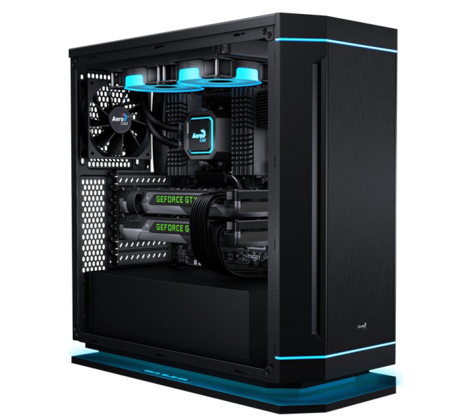 AeroCool presents the DS230 PC case