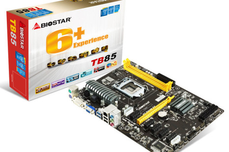 Biostar presents motherboard for mining purposes