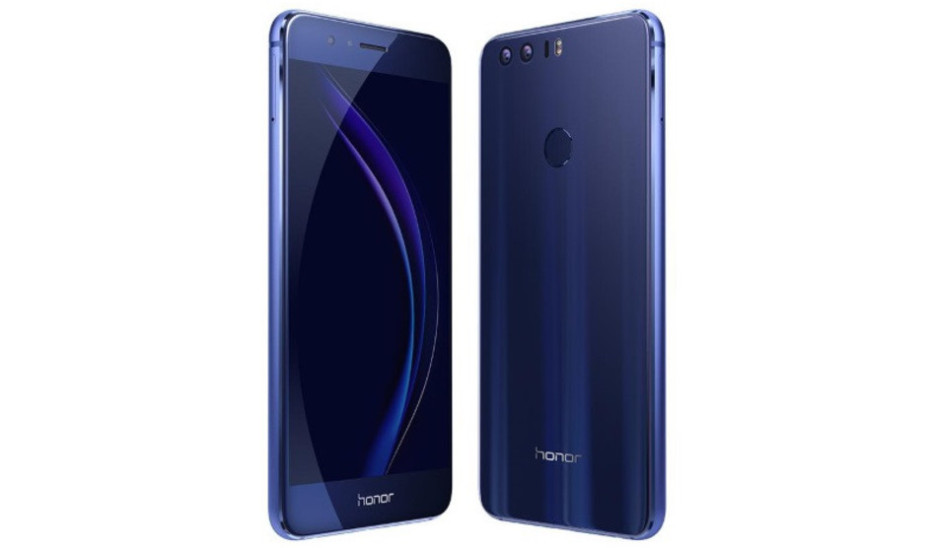 Huawei presents the Honor 8 smartphone