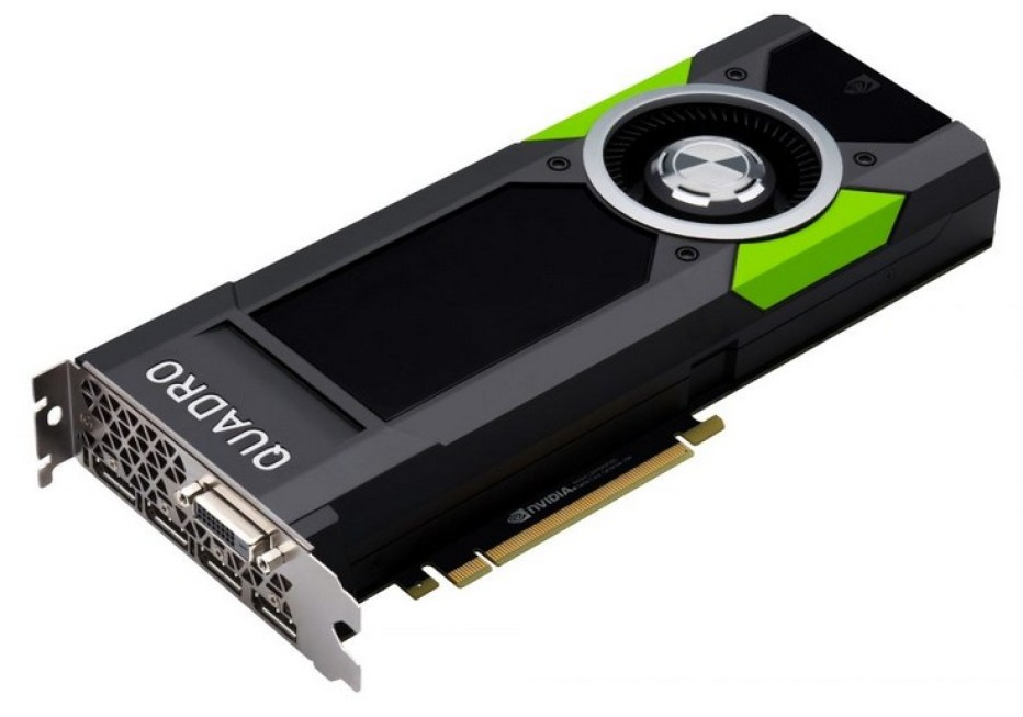NVIDIA presents the Quadro P5000 and P6000 video cards