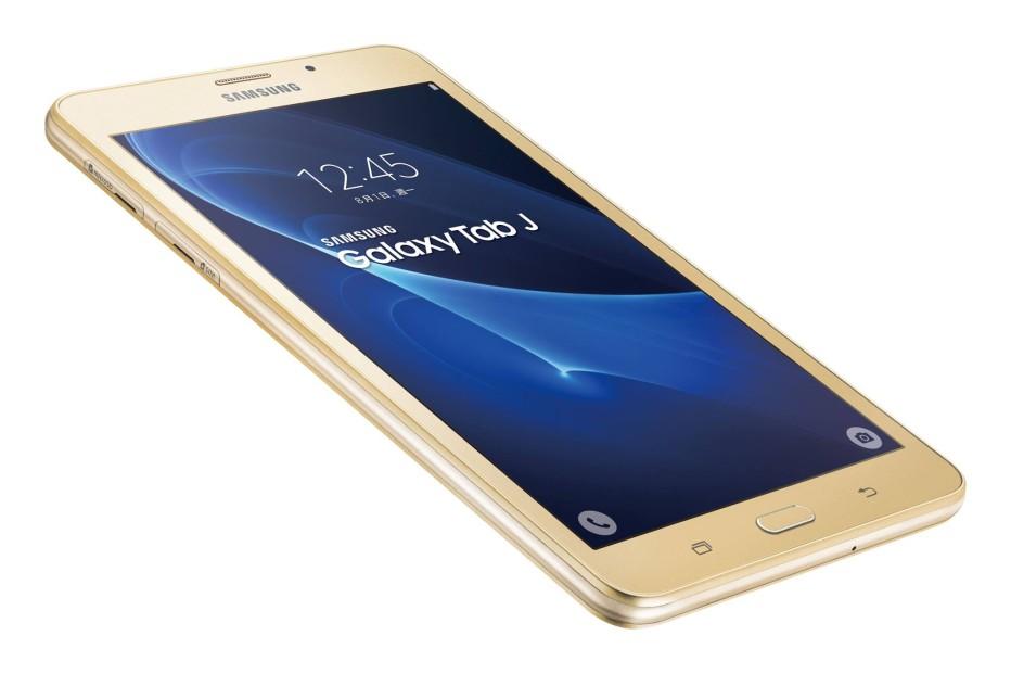 Samsung presents the Galaxy Tab J