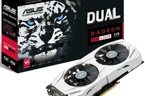 ASUS debuts the Radeon RX 480 Dual OC video card