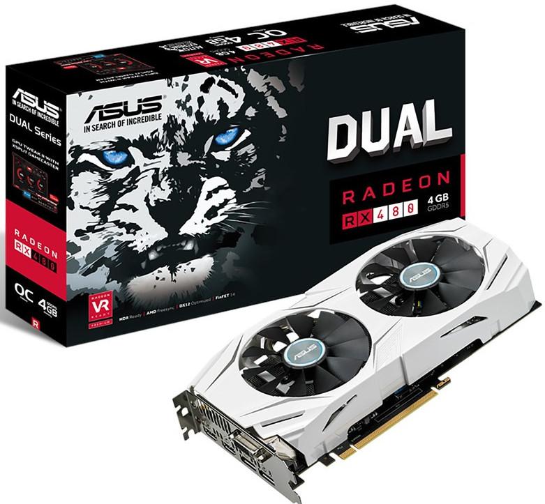 ASUS RX 480 Dual OC
