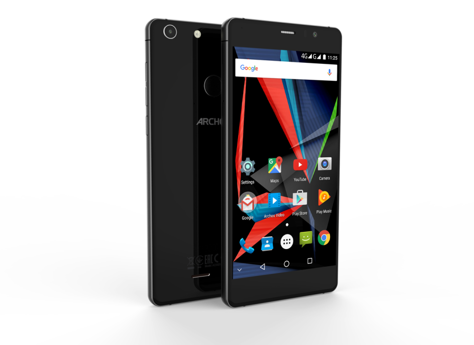 Archos now presents the 55 Diamond Selfie smartphone