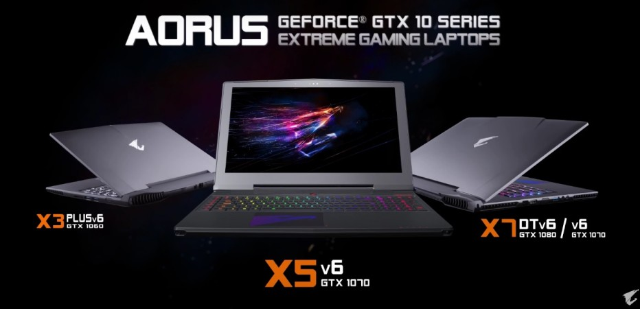 Gigabyte announces more Aorus notebooks
