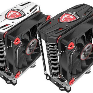 MSI offers the Core Frozr CPU coolers