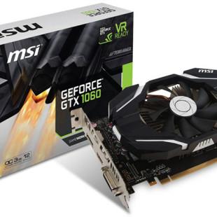 MSI announces compact GTX 1060 video card