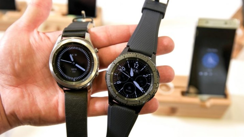 Samsung unveils the Gear S3 smartwatch