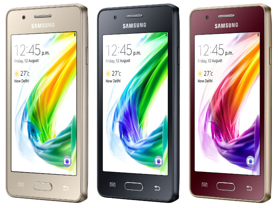 Samsung presents the Z2 smartphone