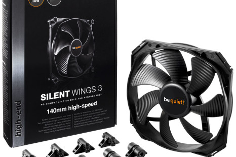 Be Quiet! Reveals SilentWings 3 case fans