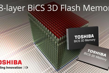 Toshiba designs BG SSDs with BiCS flash memory