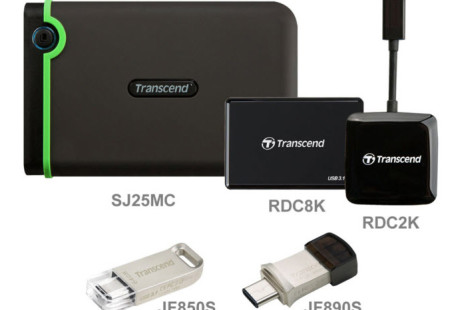 Transcend debuts storage drives with USB Type-C ports