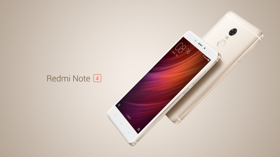 Xiaomi presents the Redmi Note 4 smartphone