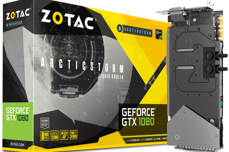 ZOTAC unveils the GeForce GTX 1080 Arctic Storm