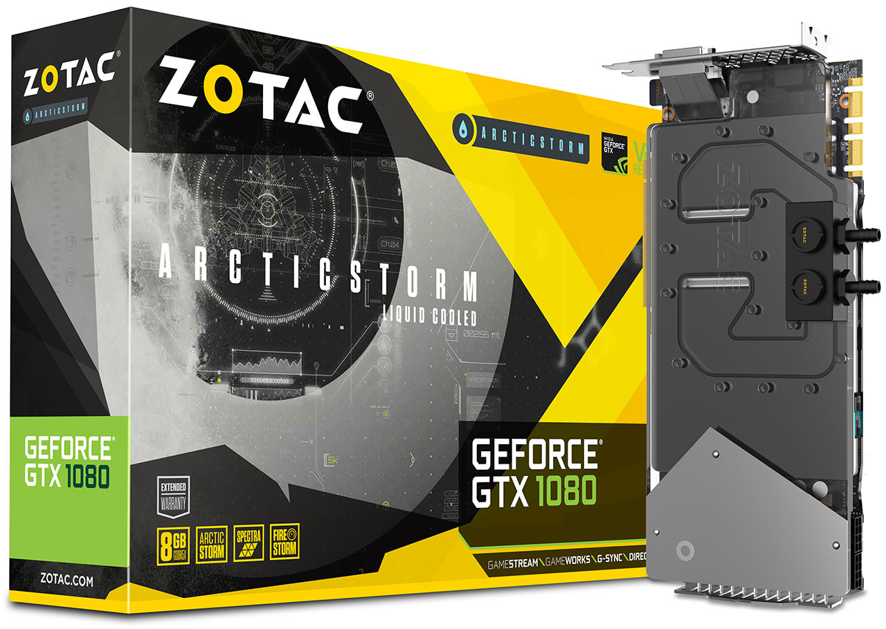 Zotac GTX 1080 Arctic