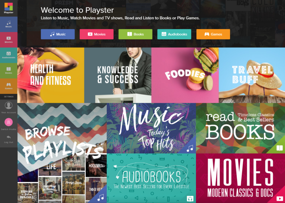 A Brief Overview Of The Playster Library