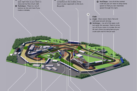 This 3D Graphic Reveals Silverstone Race Track In All Its Detail