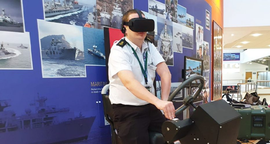 Novatech Ltd Turn Royal Navy Reserves Training Virtual With New RHIB Simulators