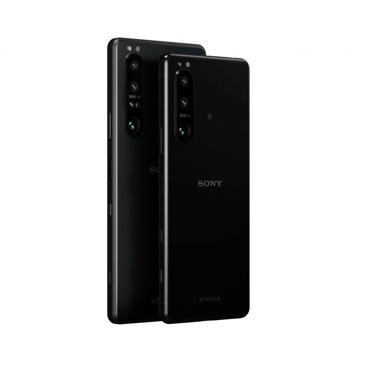 Sony Xperia 1 III and Xperia 5 III Smartphones